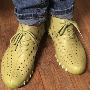 7.5 8 LITFOOT 'Bon Voyage 2' Leather Comfort Shoes